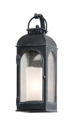 Troy Lighting Derby Outdoor Wall Light Gray