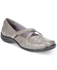 Easy Street Shoes Easy Street Marcie Flats Women's Shoes Grey