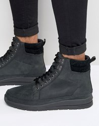 Boxfresh Loadha Leather Boots Black