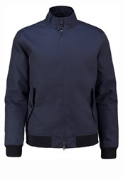 Only And Sons Onsodger Bomber Jacket Dark Navy Dark Blue