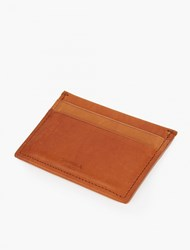 Shinola Bourbon Leather 5 Pocket Cardholder