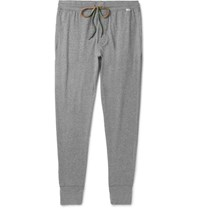Paul Smith Tapered Cotton Jersey Sweatpants Gray