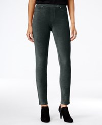 Styleandco. Style Co. Petite Corduroy Leggings Only At Macy's Carbon Grey