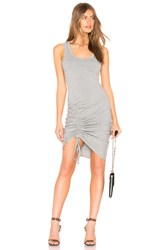 Kendall Kylie Ruched Tank Dress Gray