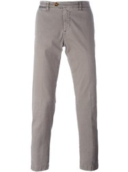 Eleventy Welt Pocket Trousers Grey
