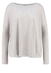 Majestic Jumper Gris Chine Clair Light Grey