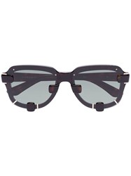 Linda Farrow X Y Project Yp5c3 Sunglasses Black