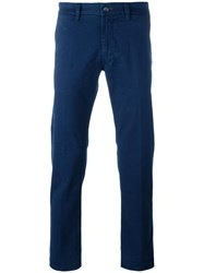 Re Hash Slim Fit Trousers Blue