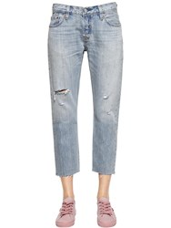 Levi's 501 Ct Cropped Boyfriend Denim Jeans