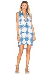 Blue Life Sleeveless Shift Dress Blue