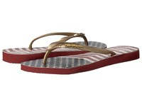 Havaianas Slim Chevron Stars And Stripes Sandal Red Chevron Women's Sandals Multi