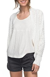 Roxy Women's Let's Go Anywhere Cardigan Marshmellow