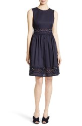 Ted Baker Women's London Dayzey Lace Inset A Line Dress