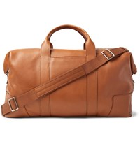 Shinola Full Grain Leather Holdall Tan