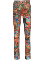 R 13 R13 X Alison Mosshart Marbled Jeans 60