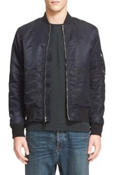 Rag And Bone Men's 'Manston' Bomber Jacket Black