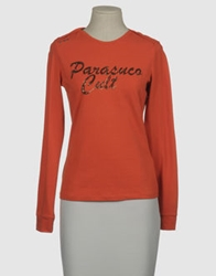 Parasuco Cult Long Sleeve T Shirts Orange