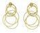 Buccellati Hawaii Waikiki Pendant Earrings Gold