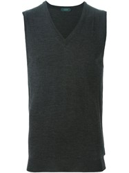 Zanone Knitted Tank Top