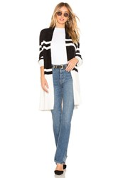 Bcbgeneration Eyelash Cardigan Black And White