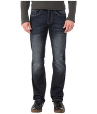 Buffalo David Bitton King Slim Bootcut Jeans Morelia In Sanded And Rusty Sanded Rusty Men's Jeans Blue