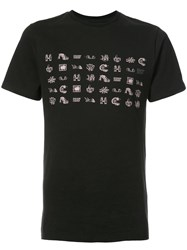 Vans Embroidered T Shirt Men Cotton S Black