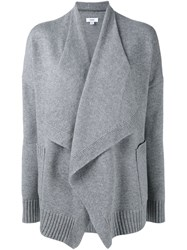 Vince Draped Front Cardigan Grey