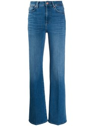 7 For All Mankind High Rise Flared Leg Jeans 60