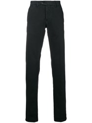 Corneliani Tailored Fitted Trousers Black