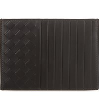Bottega Veneta Intrecciato Leather Long Credit Card Holder Moro