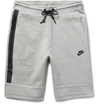 Nike Cotton Blend Tech Fleece Shorts Gray