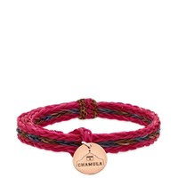 Chamula Braided Horsehair Bracelet Pink
