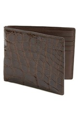 Men's Boconi Crocodile Wallet