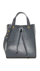 Madewell Small Trick Handle Tote Autumn Navy