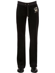 Juicy Couture Crown Velour Sweatpants