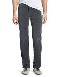 7 For All Mankind Slimmy 5 Pocket Pants Gray
