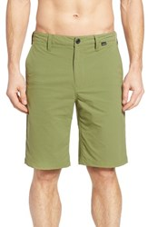 Hurley Men's 'Dry Out' Dri Fit Tm Chino Shorts Turbo Green