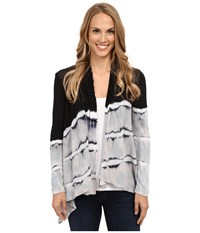 Xcvi Embassy Cardigan Desert Wolf Ballad Women's Sweater Black