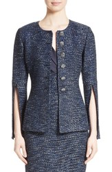 St. John Women's Collection Alisha Sparkle Tweed Jacket