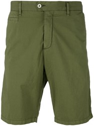 Perfection Classic Deck Shorts Men Cotton Rubber 54 Green