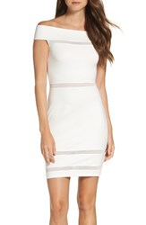 French Connection Women's Lula Off The Shoulder Body Con Dress