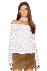 Bcbgmaxazria Alea Top White