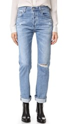 Ag Jeans The Sloan Vintage Straight Leg 20 Years Carved Stone