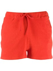 Majestic Filatures Knitted Shorts Red