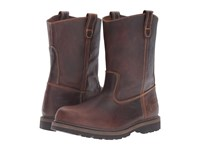 Carolina Unlined Ranch Wellington Brown Men's Work Boots