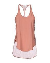 Mauro Grifoni Tank Tops Skin Color