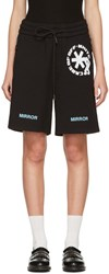 Off White Black Care Shorts
