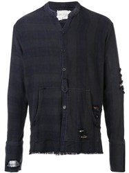 Greg Lauren Distressed Shirt Black