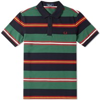 Fred Perry Contrast Stripe Polo Multi