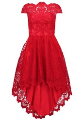Chi Chi London Astrid Occasion Wear Red